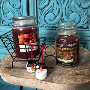 Yankee candle Christmas/winter set